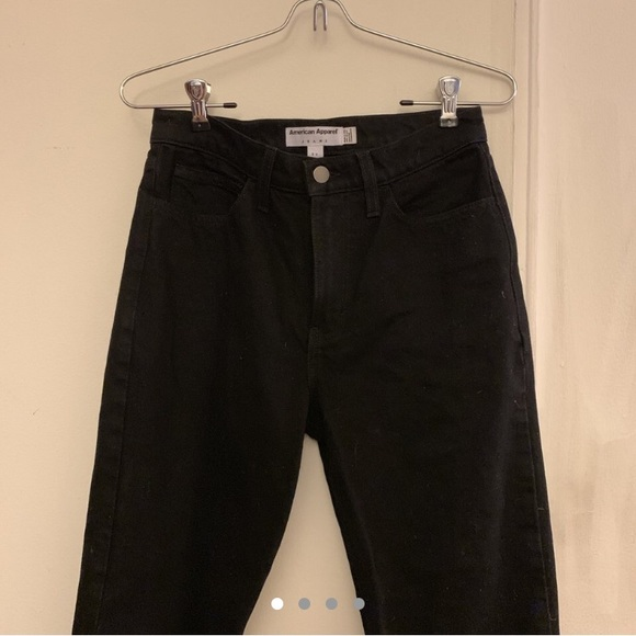 5336e7761aa3 American Apparel Denim - American Apparel Black Mom Jeans